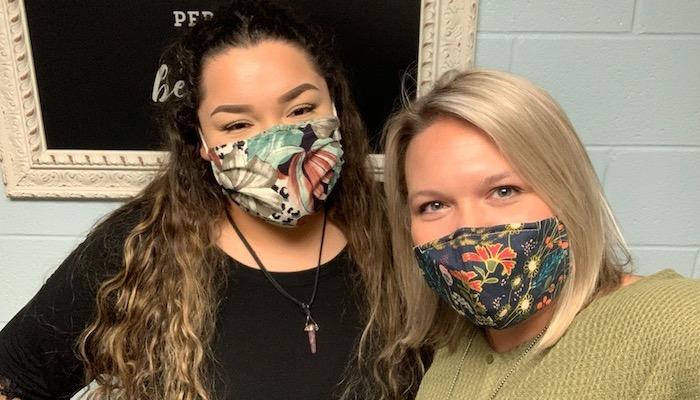 Anahi Castillo and Elizabeth Benton