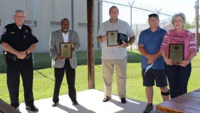 Four Sheriff's Deputies retire