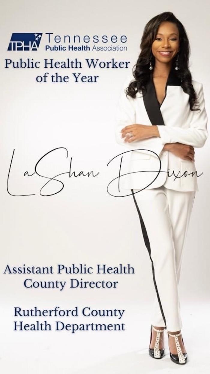 LaShan Dixon Award Winner