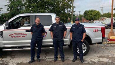 Murfreesboro firefighters deployed to Louisiana