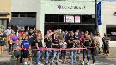 Photo of Ribbon Cutting for Boro Bowls