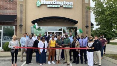 Photo of Ribbon Cutting for Huntington Learning Center