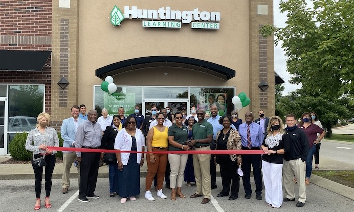 Ribbon Cutting for Huntington Learning Center