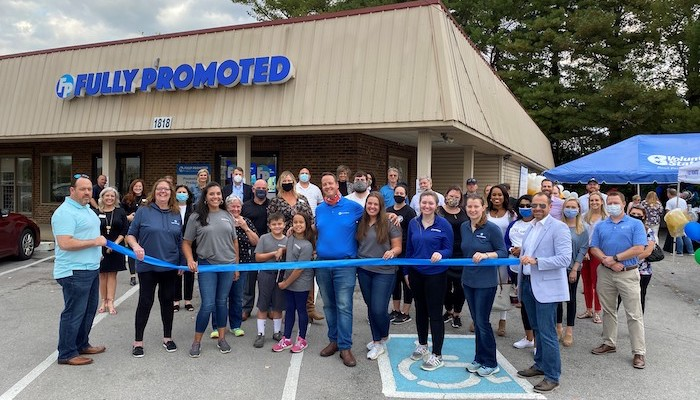 Ribbon Cutting for Fully Promoted Murfreesboro