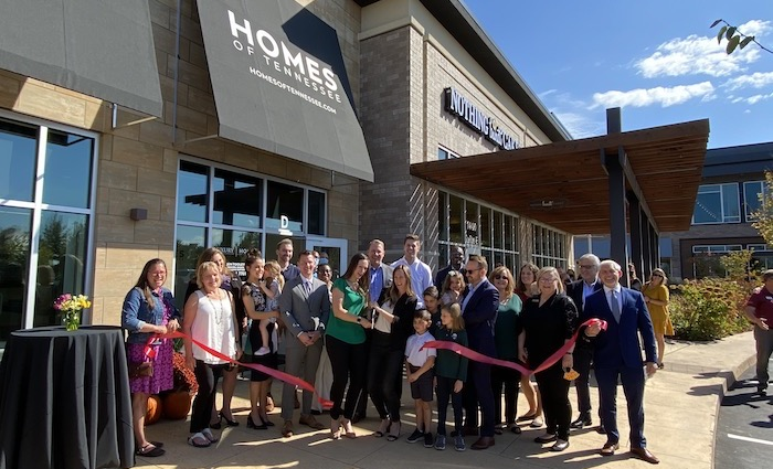 Ribbon Cutting for Homes of Tennessee
