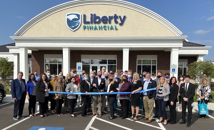 Ribbon Cutting for Liberty Financial