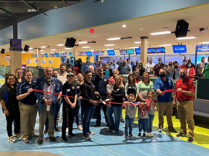 Ribbon Cutting for Strike & Spare