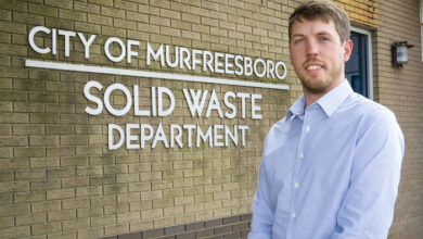 Photo of Russell Gossett announced as director of Solid Waste