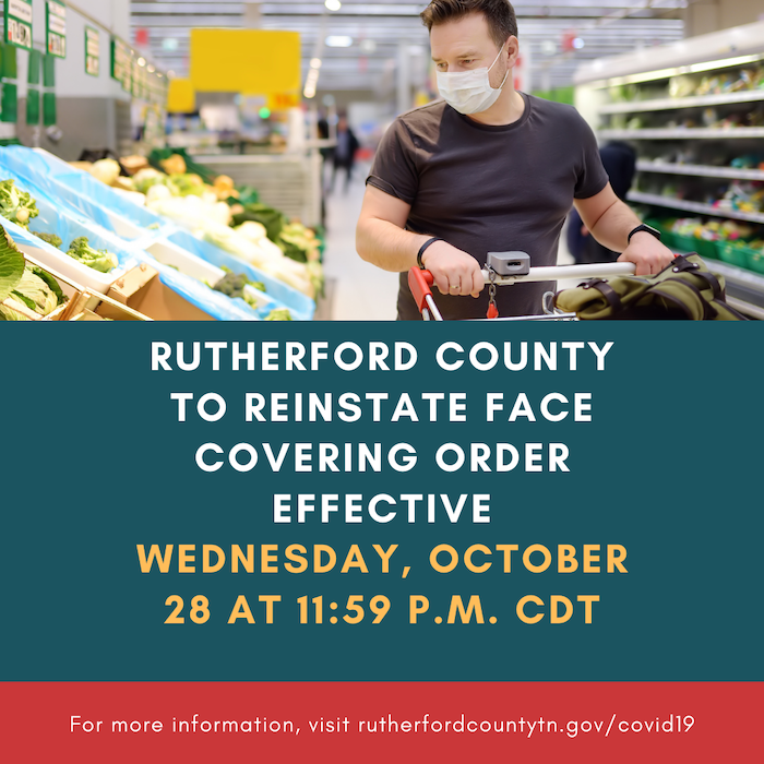 Rutherford County Mask Mandate