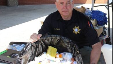 Photo of Sheriff's office collects old medications Saturday for National Drug Take-Back day