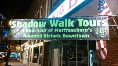 Photo of Shadow Walk Ghost Tour Schedule for the 2020 Season