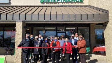 Ribbon Cutting for Wallace Finance