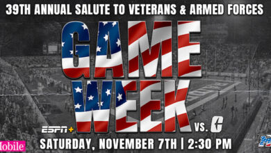 MTSU Salute to Veterans Game