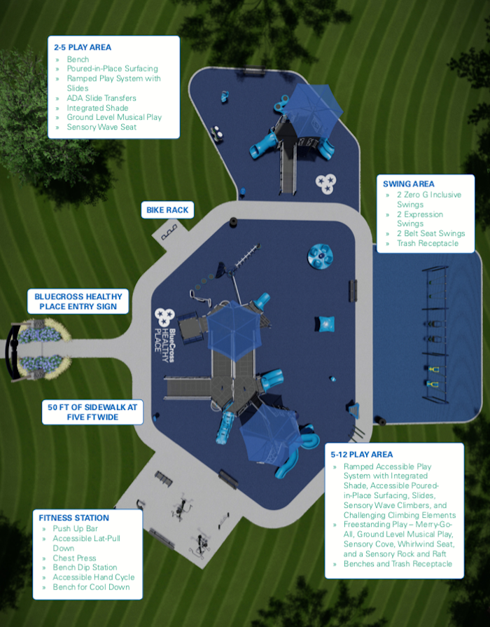 BlueCross Healthy Place at Barfield Crescent Park