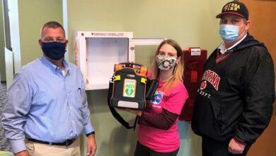 AED installation