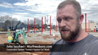 Construction Update - Tommy's Express Car Wash