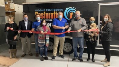 Ribbon Cutting for Restoration 1 of Middle Tennessee