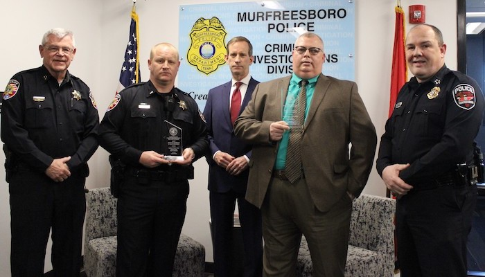 Officers earn awards from U.S. Attorney