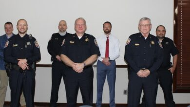 Officers of the month honored