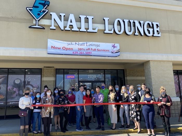 Ribbon Cutting for 5th Nail Lounge