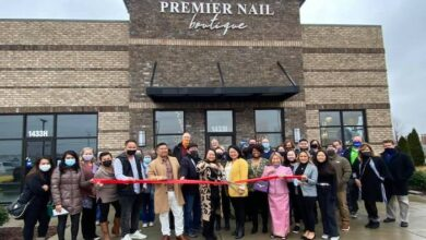 Ribbon Cutting for Premier Nail Boutique
