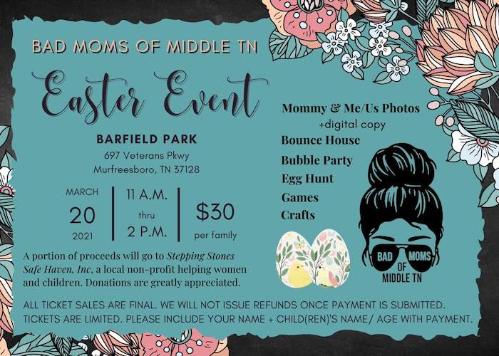 Bad Moms Easter Event