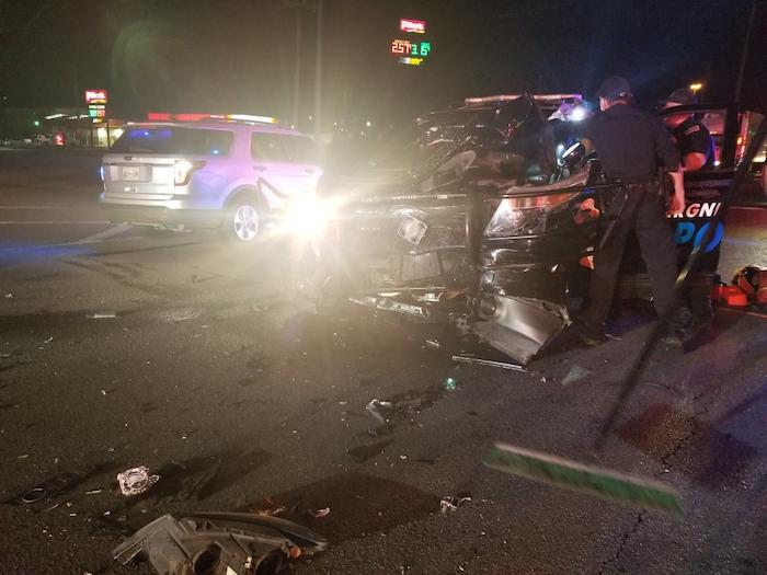 Police Officer Benedetti Crash