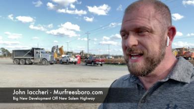 Big New Development Off New Salem Highway