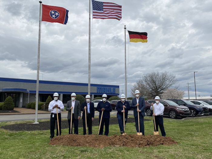 Groundbreaking for MAHLE Filter Systems North America Expansion