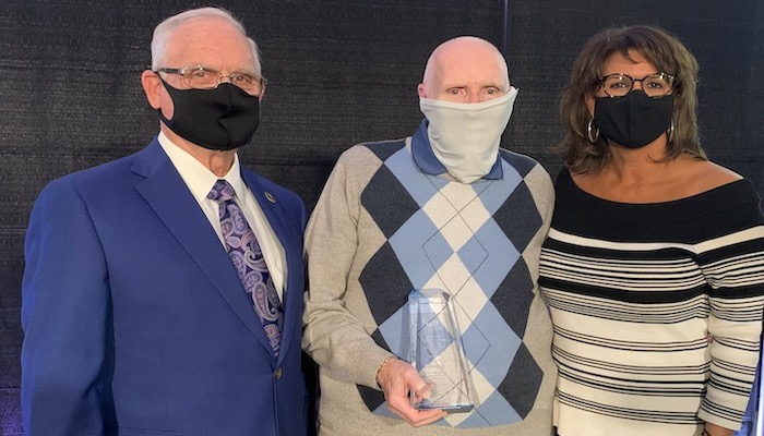 Lifetime Service Award Winner Ed Gleason