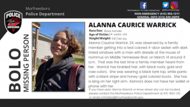 Missing Person Alanna Warrick