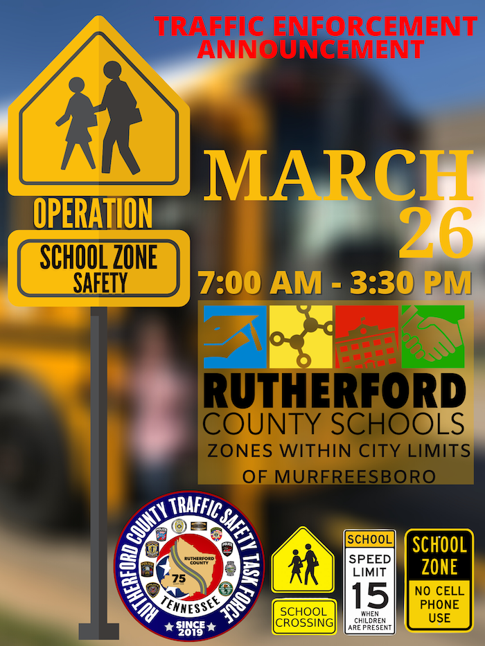 Operation School Zone Safety