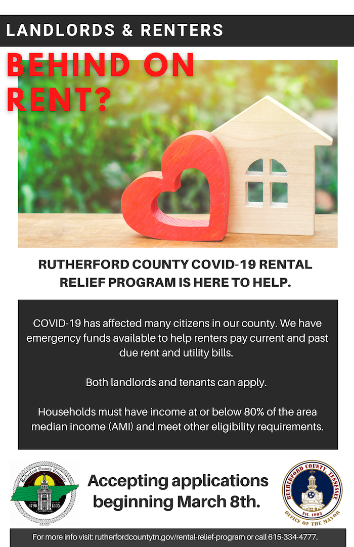 Rutherford County COVID Recovery Program