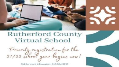 Rutherford County Virtual School header