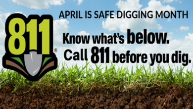 April Safe Digging Month