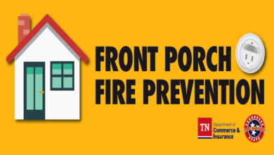 Front Porch Fire Prevention