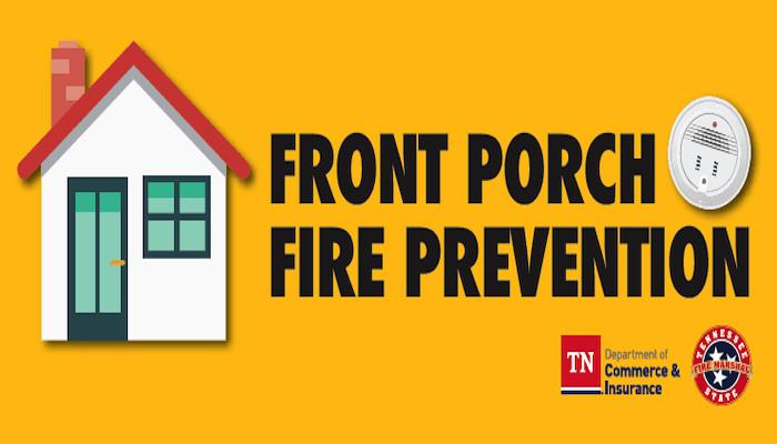 Front Porch Fire Prevention