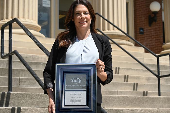 Heather Brown ACI award