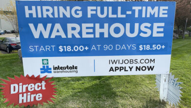 Interstate Warehousing is Hiring
