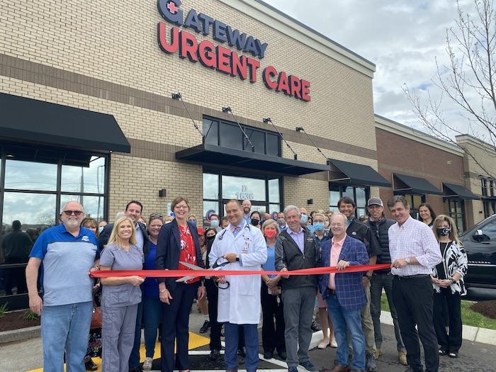 Ribbon Cutting for Gateway Urgent Care - New Salem