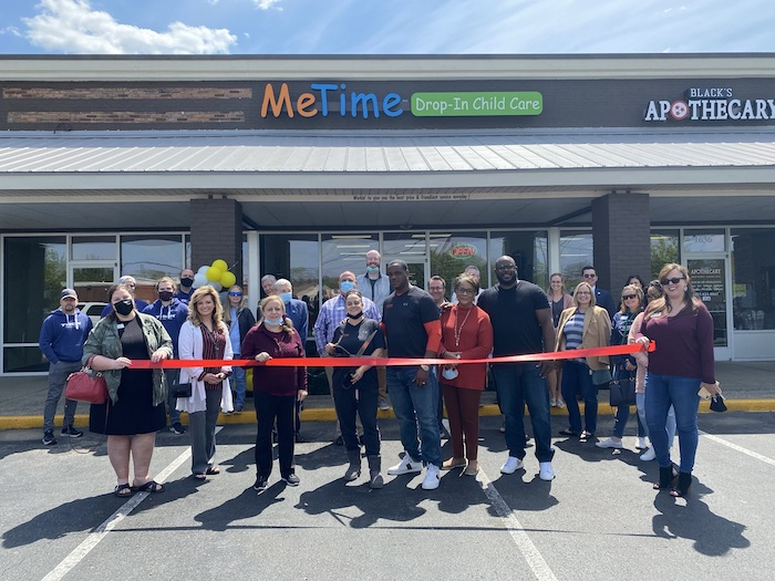 Ribbon Cutting for Me Time Drop-In Child Care