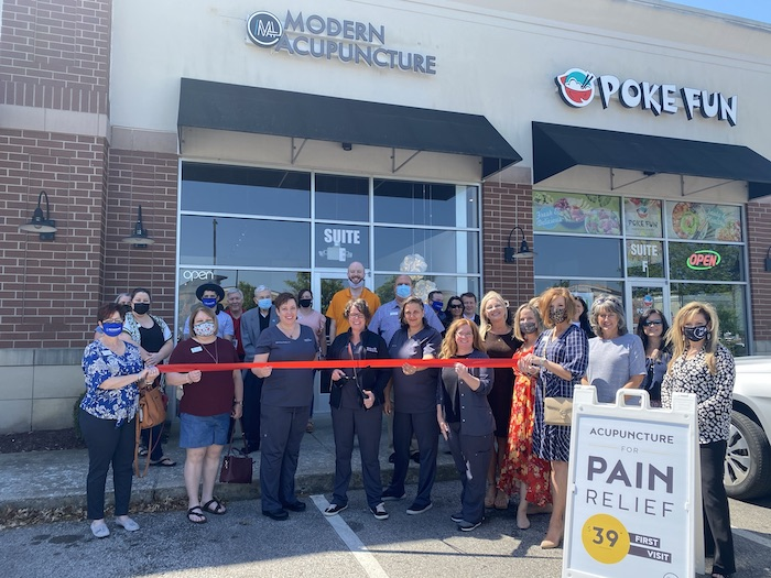 Ribbon Cutting for Modern Acupuncture