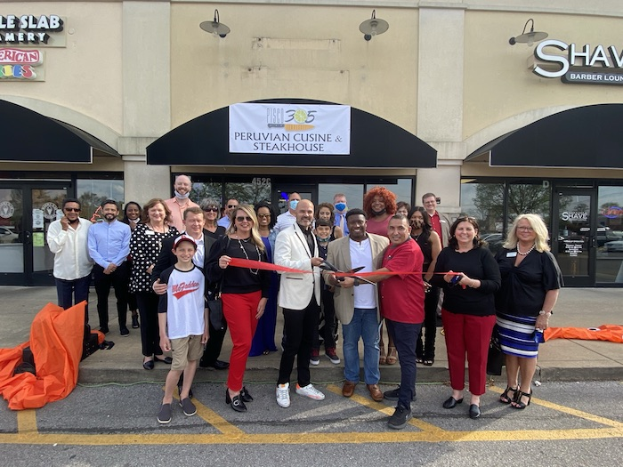 Ribbon Cutting for Pisco305 Peruvian Cuisine & Steakhouse