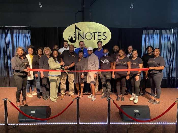 Ribbon Cutting for The Notes Lounge