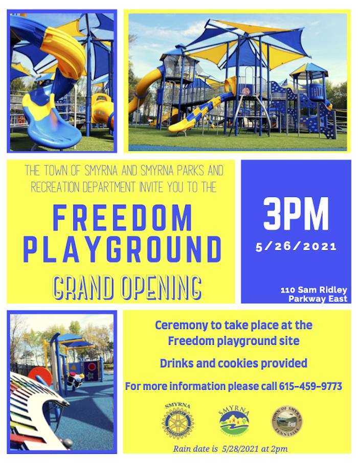 Freedom Playground Invite 2021
