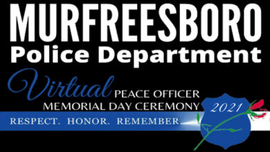 MPD Peace Officer Memorial Day Ceremony
