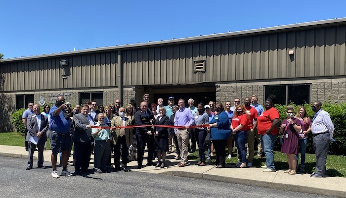 Ribbon Cutting for The Salvation Army