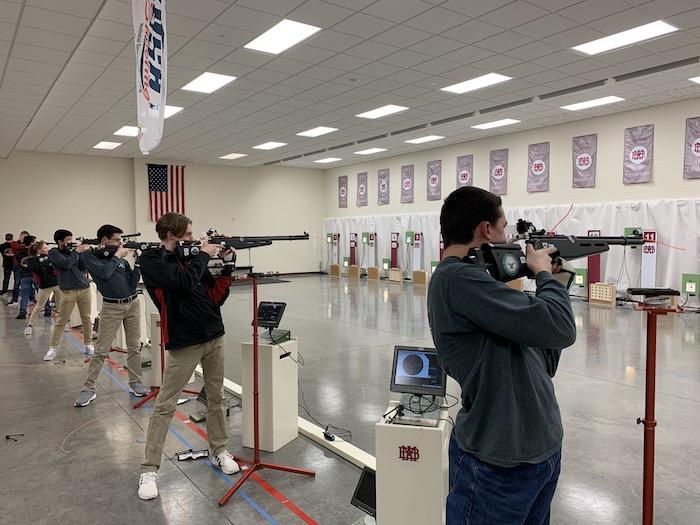 Stewarts Creek High air rifle team