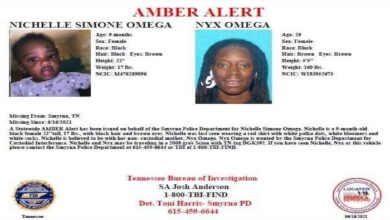 Amber Alert for Nichelle Omega