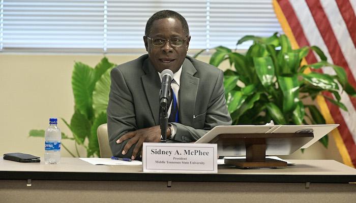 MTSU Board of Trustees June 2021